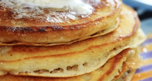 Fabulously Lazy Lemon & Vanilla Bean Pancakes