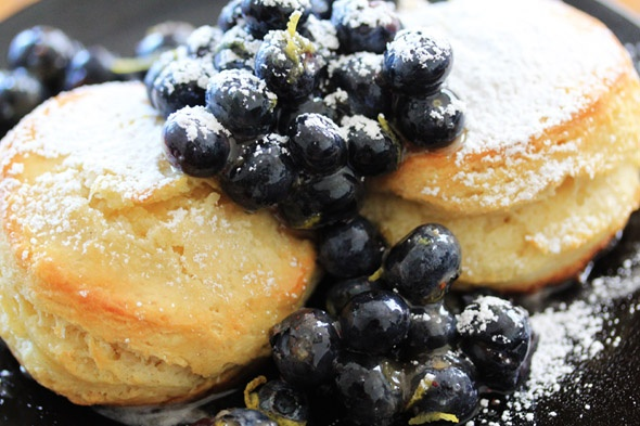 Blueberry & Lemon Shortcakes