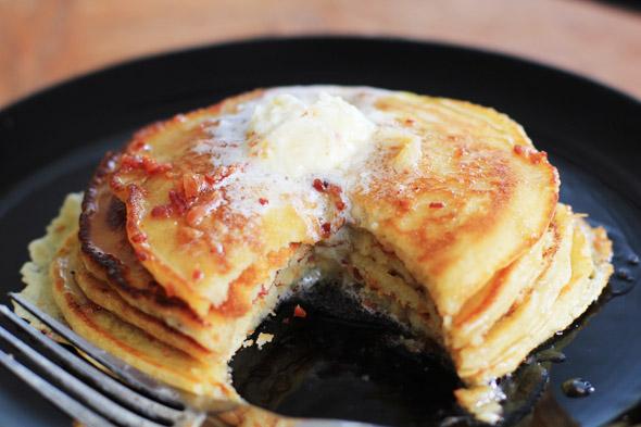 Bacon & Brown Sugar Pancakes