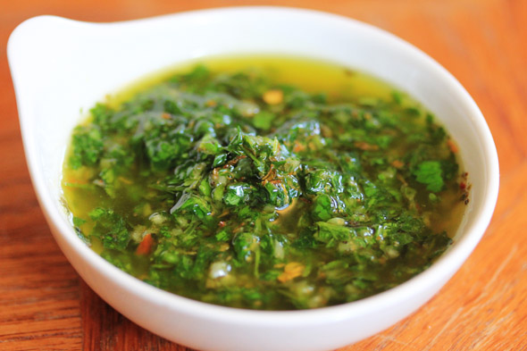 Quick and Easy Chimichurri Sauce | Carnal Dish