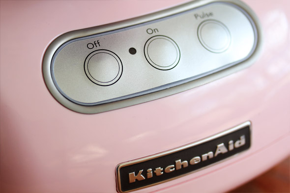 Pink Kitchenaid 750 12-cup Food Processor
