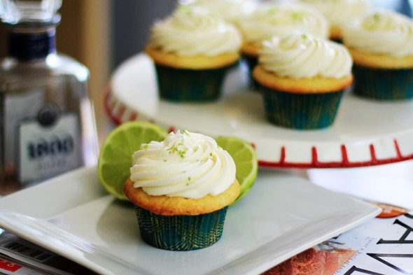 Tequila & Lime Cupcakes