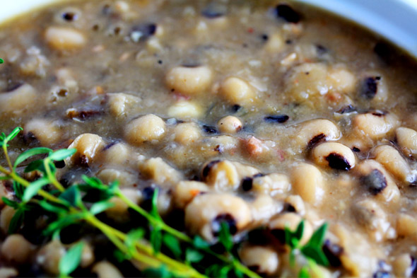 Southern Black-Eyed Peas with Hamhocks