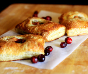 Handheld Apple-Cranberry Pies
