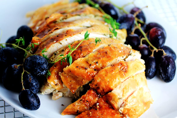 Lemon and Herb Roast Turkey Breast
