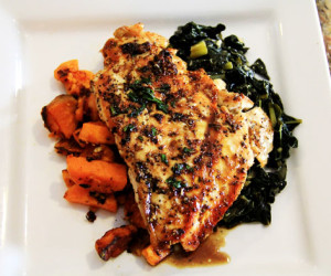 Quick Pan-seared Chicken Breasts