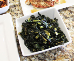 Clean Eating: Quick & Easy Sauteed Tuscan Kale