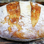 Crusty No-Knead Artisan Bread