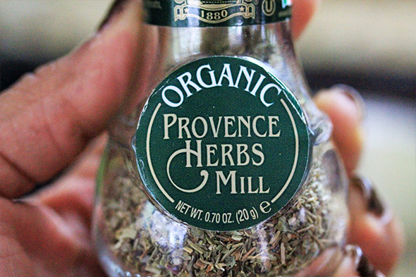 and my absolutely favorite herb mix of all time - herbes de provence.