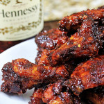 Orange-Hennessy BBQ Wings