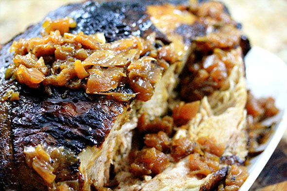 Cider-braised Pork with Caramelized Apples, Fennel, and Onions ...