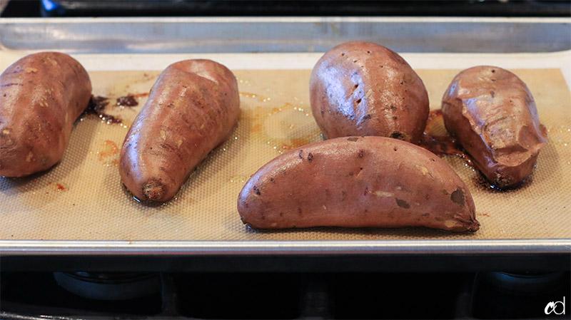 Baby Food | Cinnamon Sweet Potatoes