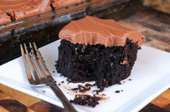 Chocolate Sheet Cake - PMS Cure