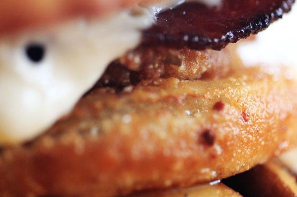 Bacon Mushroom Swiss burger recipe