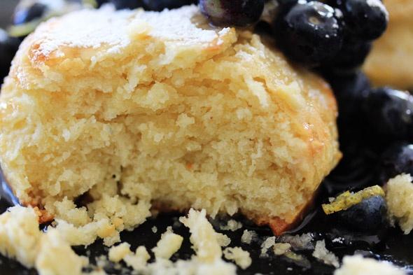 Blueberry & Lemon Shortcakes
