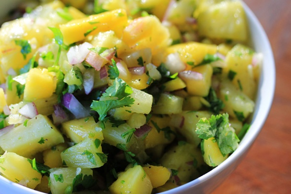 Pineapple & Mango Salsa