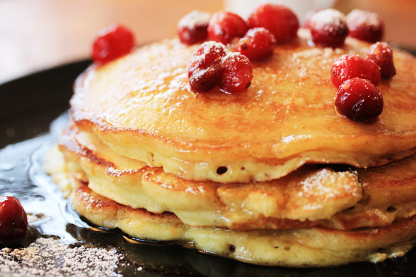 Cranberry-Orange Pancakes