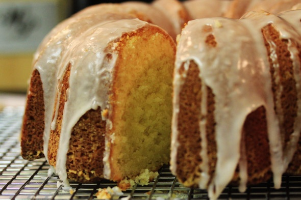 Coconut Flour Lemon Cake
