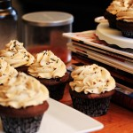 Chocolate Mocha Cupcakes with Espresso Buttercream