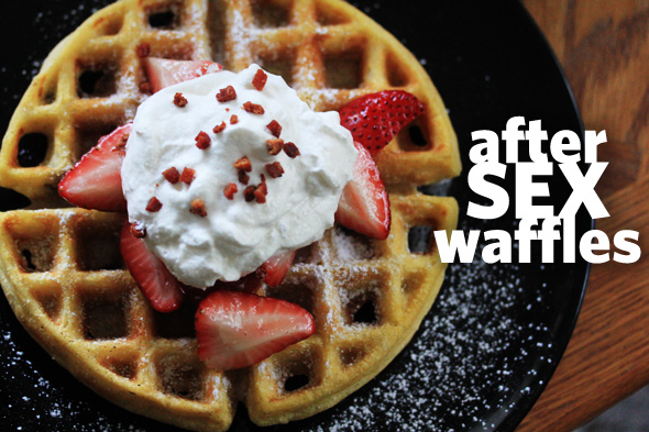 Ultimate After Sex Waffles