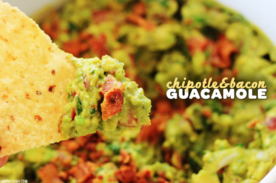 Only on Tumblr: Chipotle & Bacon Guacamole