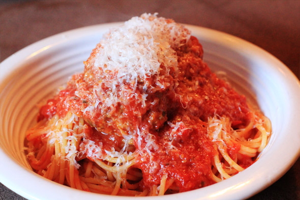 Signature Spaghetti and Meatballs