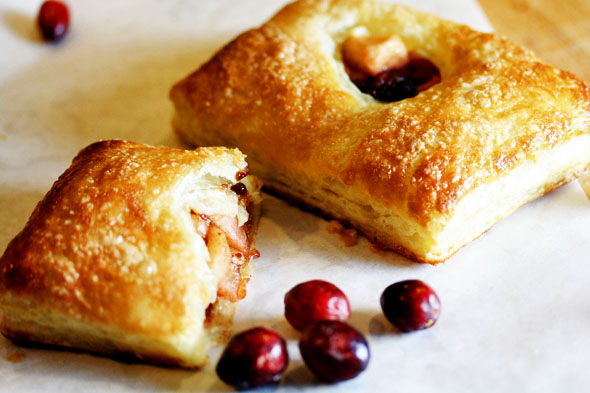 Handheld Apple & Cranberry Pies