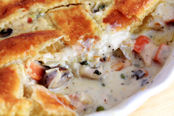 Creamy Turkey Pot Pie