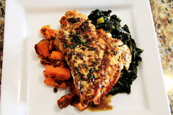 Pan Seared Chicken Breasts Carnaldish