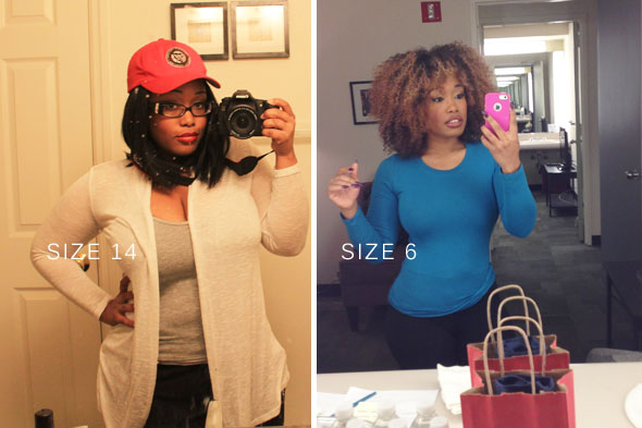 Here I am, a hefty size 14 and now a size 6!