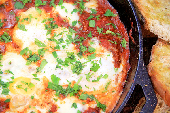 Shakshuka - Eggs in Purgatory