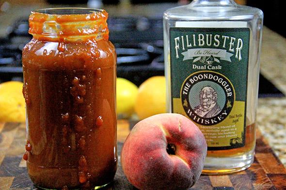 Peach-Bourbon BBQ Sauce