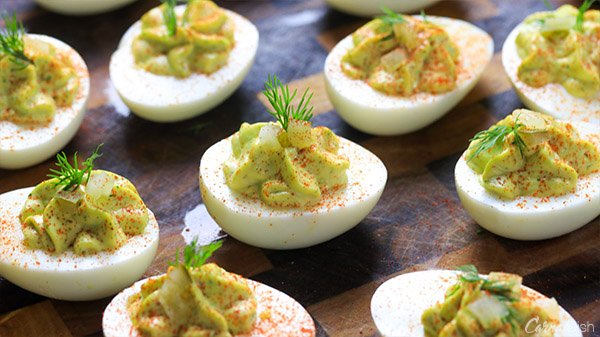 Fresh Herb Deviled Eggs