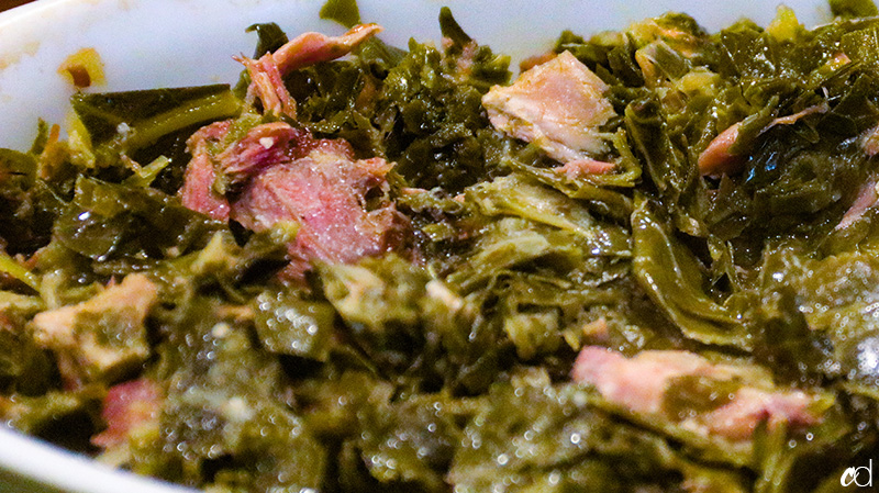 Southern-Style Collard Greens with Smoked Turkey