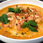 Creamy Tomato Shrimp and Fontina Grits