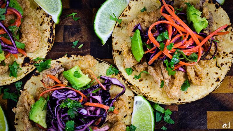 Calamari Tacos