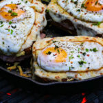 Smoky Grilled Croque Madame