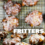 Spiced Apple & Thyme Fritters