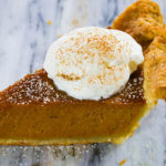 Bourbon Sweet Potato Pumpkin Pie