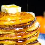 Pumpkin Ricotta Buttermilk Pancakes