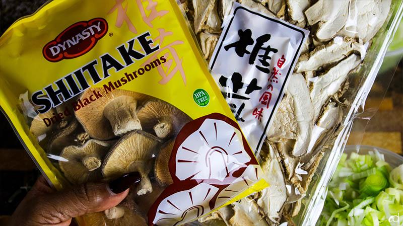 Dried Mushrooms whole