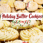 Holiday Butter Cookies Pin