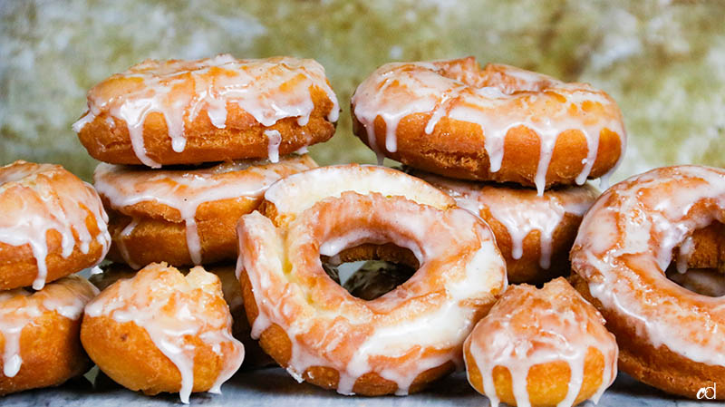 Old Fashioned Sour Cream Donuts 21