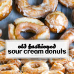 Old Fashioned Sour Cream Donuts Pin
