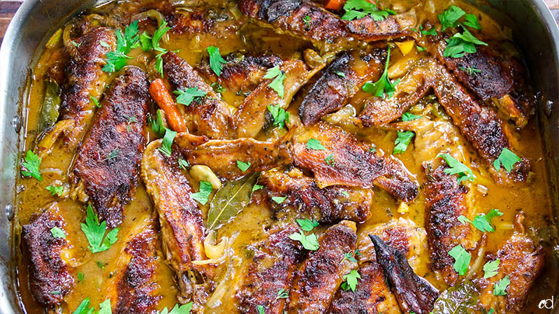 Smothered Turkey Wings 33