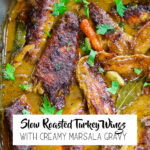 Smothered Turkey Wings Pin