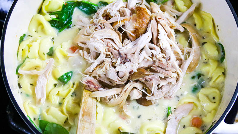 Creamy Chicken Tortellini Soup 23