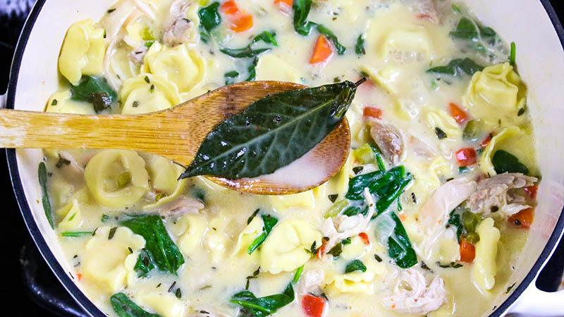 Creamy Chicken Tortellini Soup 25