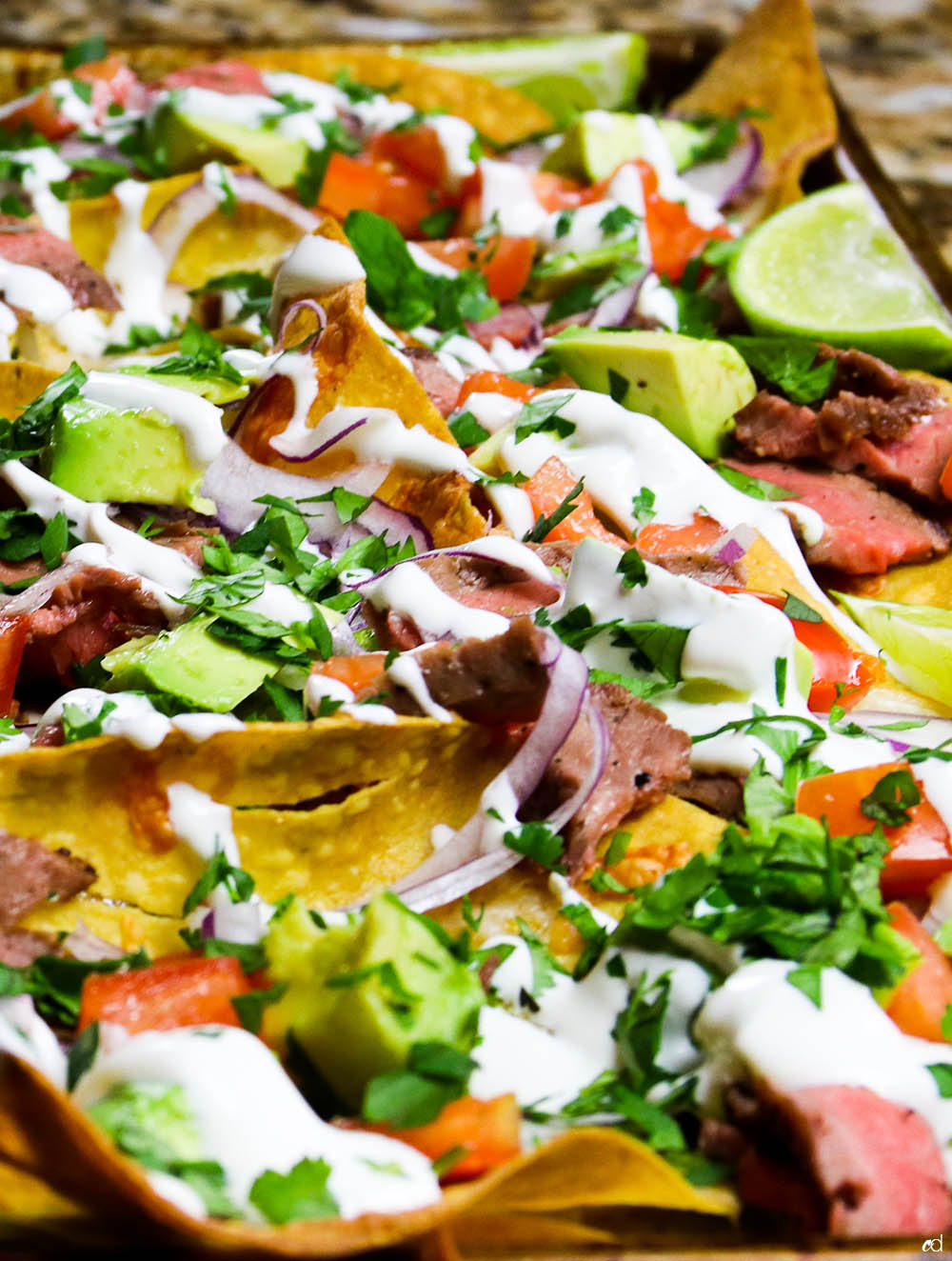 Loaded Steak Sheetpan Nachos Feature3