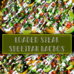 Loaded Steak Sheetpan Nachos Pin